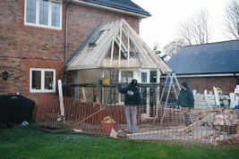 A conservatory to the rear in Knutsford by KJB Builders