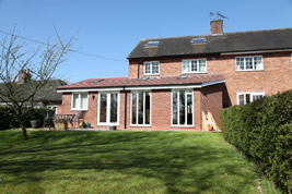 An extension to the rear in Ollerton by KJB Builders