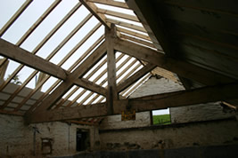 A barn conversion roof project in Macclesfield by KJB Builders