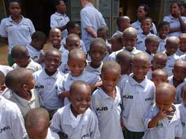 KJB Charity work in Uganda